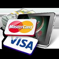 visa card gokken